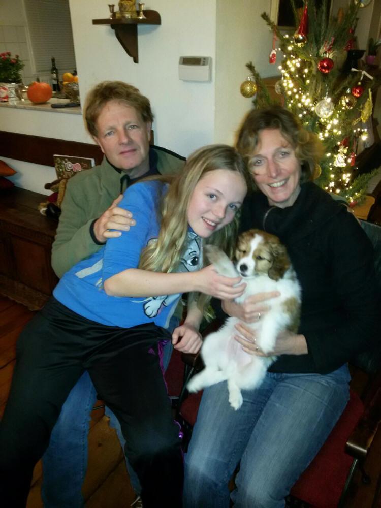 Rakker (Arco) met Ine, Alexander en Eva